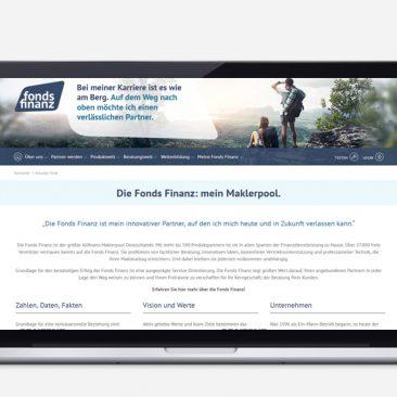 Fonds Finanz: Website-Texte, Qualitätssicherung