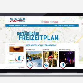 Stadtpark Norderstedt: Website-Texte und Content Management